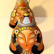 """Сувениры и подарки ручной работы. Ярмарка Мастеров - ручная работа колокольчик """"Тюркская принцесса"""". Handmade."""
