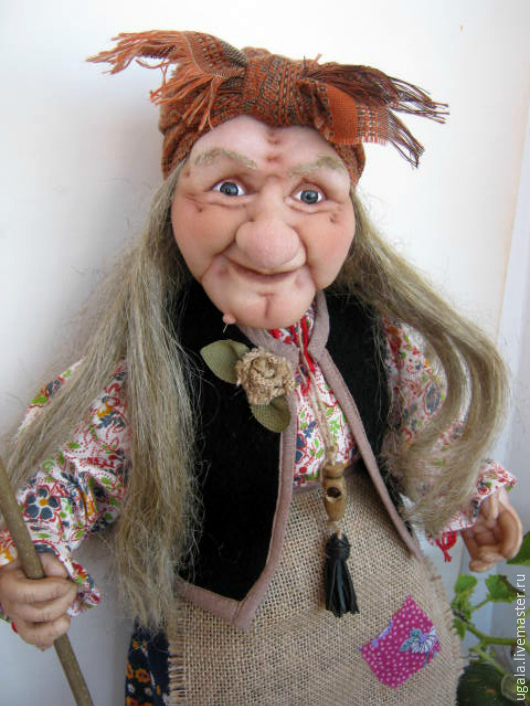 Doll Baba Yaga 5, Dolls, Ryazan,  Фото №1