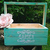 Цветы и флористика ручной работы. Ярмарка Мастеров - ручная работа Ящик для цветов # 33-2. Handmade.