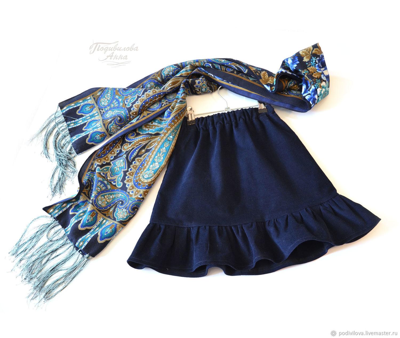 949c5509afc Детская вельветовая юбка