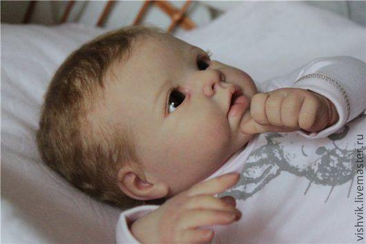 Куклы-младенцы и reborn ручной работы. Ярмарка Мастеров - ручная работа. Купить Кристочка. Handmade. Кукла реборн, краски генезис