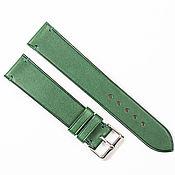 Украшения handmade. Livemaster - original item Green Genuine leather strap. Handmade.
