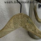 Для дома и интерьера ручной работы. Ярмарка Мастеров - ручная работа Вешалка для одежды  Ажур. Handmade.