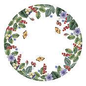 Дизайн и реклама ручной работы. Ярмарка Мастеров - ручная работа Цветочные композиции, дизайн, акварель. Handmade.
