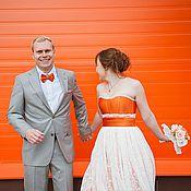"""Свадебный салон ручной работы. Ярмарка Мастеров - ручная работа Свадебное платье """"Заводной апельсин"""". Handmade."""