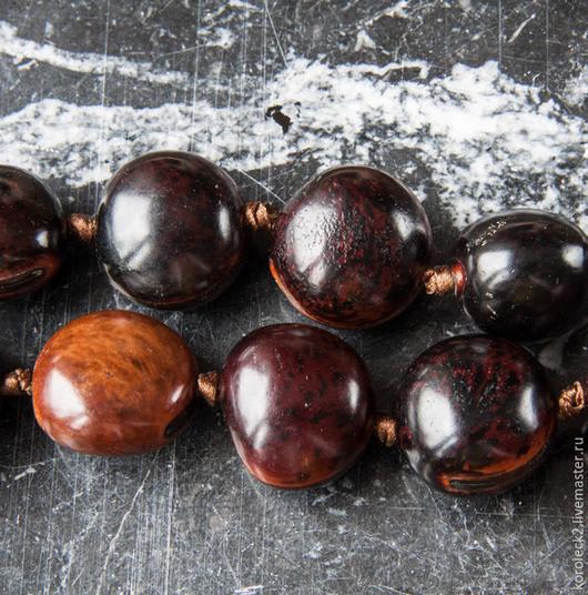 Для украшений ручной работы. Ярмарка Мастеров - ручная работа. Купить Крупные бусины из семян Sibucau. Handmade. Дерево