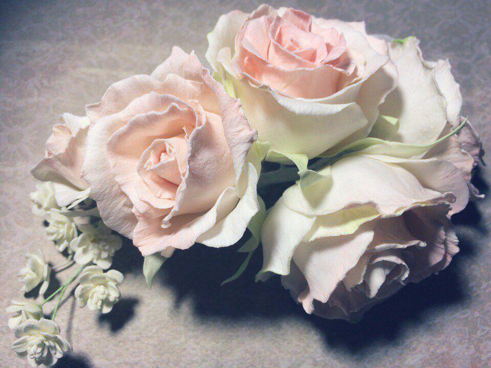 Иранский фоамиран цветы
