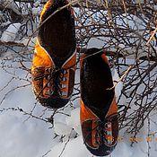 """Обувь ручной работы. Ярмарка Мастеров - ручная работа Тапочки """"Кроссовки"""". Handmade."""