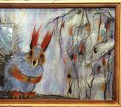 """Картины и панно ручной работы. Ярмарка Мастеров - ручная работа """"Белка"""". Картина из шерсти мериноса.. Handmade."""