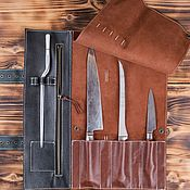 Для дома и интерьера handmade. Livemaster - original item Twisting for 3 knives. Handmade.