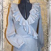 Одежда ручной работы. Ярмарка Мастеров - ручная работа Платье-пальто из итальянского суперкидмохера. Handmade.