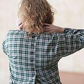 """Одежда ручной работы. Ярмарка Мастеров - ручная работа Платье-рубашка """"Дакота"""". Handmade."""