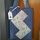 Женские сумки ручной работы. Ярмарка Мастеров - ручная работа. Купить Сумка джинсовая. Handmade. Разноцветный, джинсовая сумка
