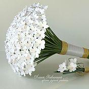 Свадебный салон ручной работы. Ярмарка Мастеров - ручная работа Свадебный букет из полимерной глины. Handmade.