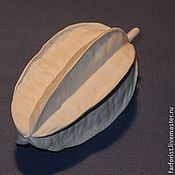 Для дома и интерьера ручной работы. Ярмарка Мастеров - ручная работа Карамбола украшение для интерьера из фарфора-бисквит. Handmade.