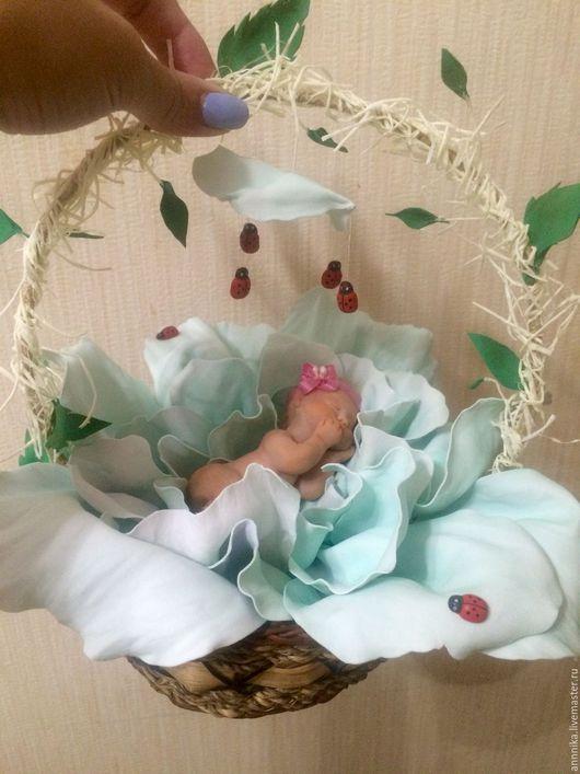 Куклы-младенцы и reborn ручной работы. Ярмарка Мастеров - ручная работа. Купить Маленькое чудо в капусте. Handmade. Младенец