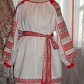 Одежда ручной работы. Ярмарка Мастеров - ручная работа женская рубаха Покосница. Handmade.