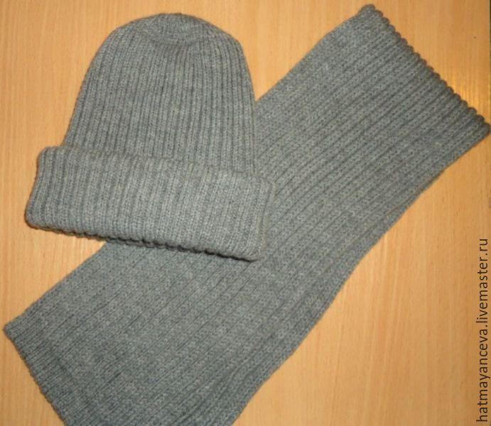 Hat and scarf for men, Carnival Hats, Nizhny Novgorod,  Фото №1