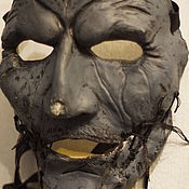 Одежда ручной работы. Ярмарка Мастеров - ручная работа Маска Кори Тейлора 5 Grey Chapter маска группы Слипкнот Slipknot. Handmade.