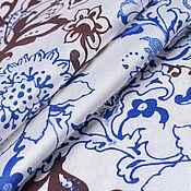 Материалы для творчества handmade. Livemaster - original item Fabric: Silk 50% Viscose 50% Cotton blouse. Handmade.
