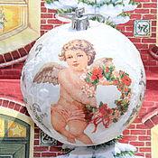 Сувениры и подарки handmade. Livemaster - original item Christmas decorations: Christmas angel. Handmade.