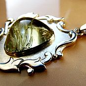 Украшения handmade. Livemaster - original item Beryl. Pendant. Handmade.