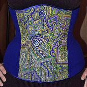 """Одежда ручной работы. Ярмарка Мастеров - ручная работа Корсет """"Paisley"""". Handmade."""