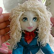 Куклы и игрушки handmade. Livemaster - original item Doll Viviene. Textile doll.. Handmade.