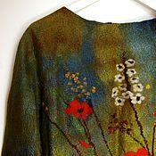 """Одежда ручной работы. Ярмарка Мастеров - ручная работа Джемпер """"Босиком по траве"""". Handmade."""