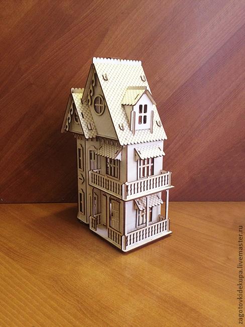 виде) Кукольный домик