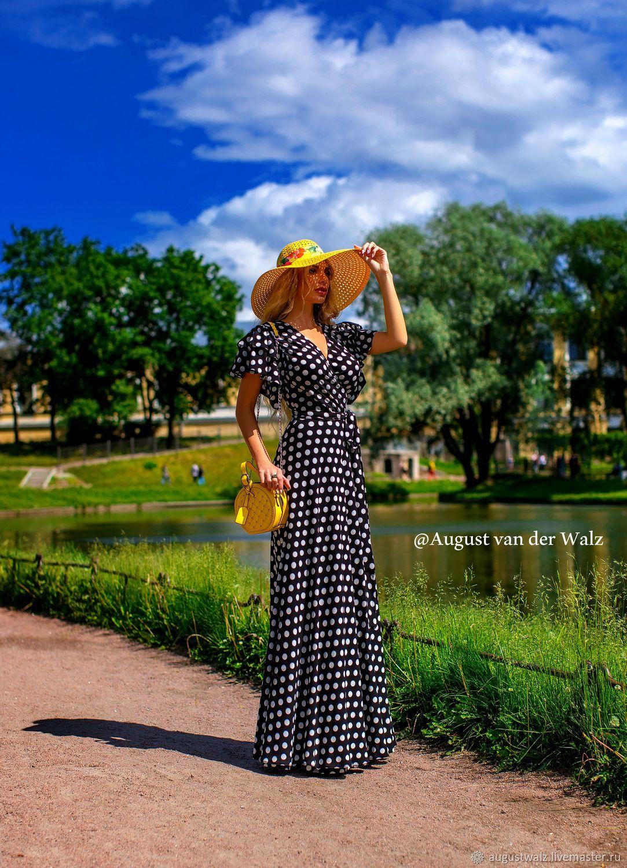 Летнее платье в горох, Платья, Санкт-Петербург,  Фото №1