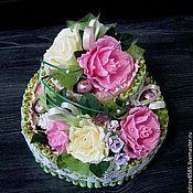 Сувениры и подарки ручной работы. Ярмарка Мастеров - ручная работа Торт из конфет. Handmade.