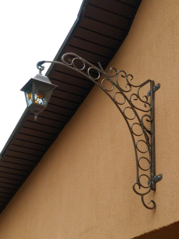 светильник кованый на кронштейне, Потолочные и подвесные светильники, Балашиха,  Фото №1