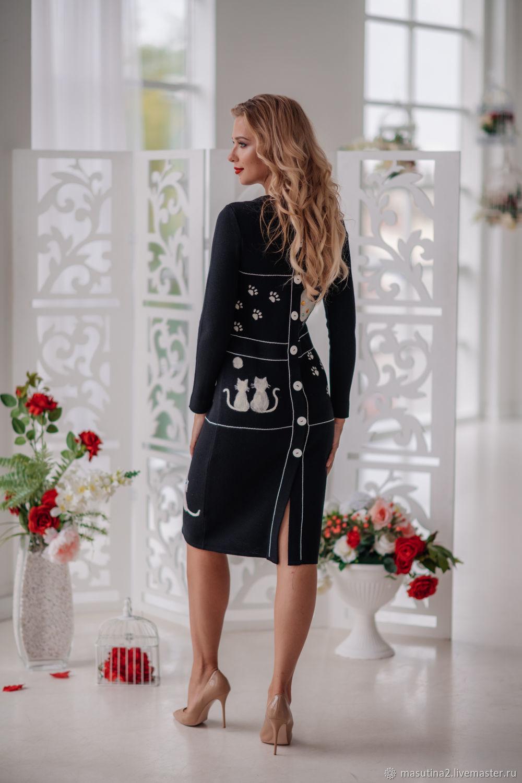 """Платье """"Кошкин дом"""", Платья, Санкт-Петербург,  Фото №1"""