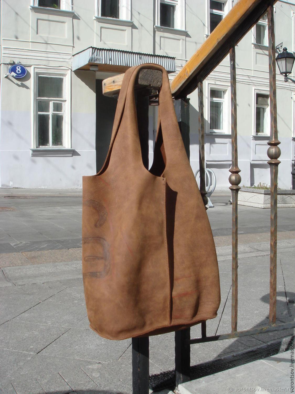Gerhardt family - Полезный пакет, сумка мешок из хорошей кожи