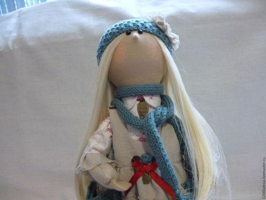 Коллекционные куклы ручной работы. Ярмарка Мастеров - ручная работа. Купить Кукла текстильная. Снежка. Девочка-бохо в кедах.. Handmade.