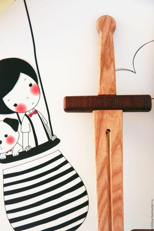Развивающие игрушки ручной работы. Ярмарка Мастеров - ручная работа. Купить Деревянные меч. Handmade. Дерево, игрушка, американский орех