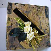 Свадебный салон ручной работы. Ярмарка Мастеров - ручная работа Коробка для даров. Handmade.