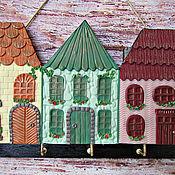 Для дома и интерьера handmade. Livemaster - original item Summer Marcel The Housekeeper.The housekeeper wall. decor polymer clay.. Handmade.