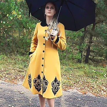 """Одежда ручной работы. Ярмарка Мастеров - ручная работа Пальто """"Краски осени"""". Handmade."""