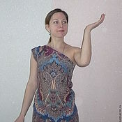 """Одежда ручной работы. Ярмарка Мастеров - ручная работа Платье """"Восточные мотивы""""  Продано. Handmade."""