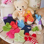 Работы для детей, ручной работы. Ярмарка Мастеров - ручная работа Детские носочки. Handmade.