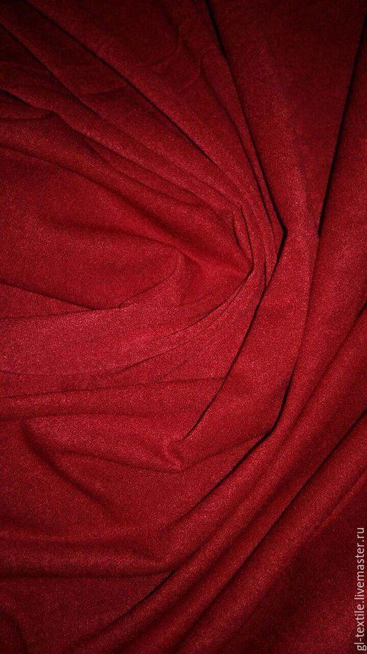 Шитье ручной работы. Ярмарка Мастеров - ручная работа. Купить Замша тонкая плательно-рубашечная (цвета в ассортименте). Handmade. Синий
