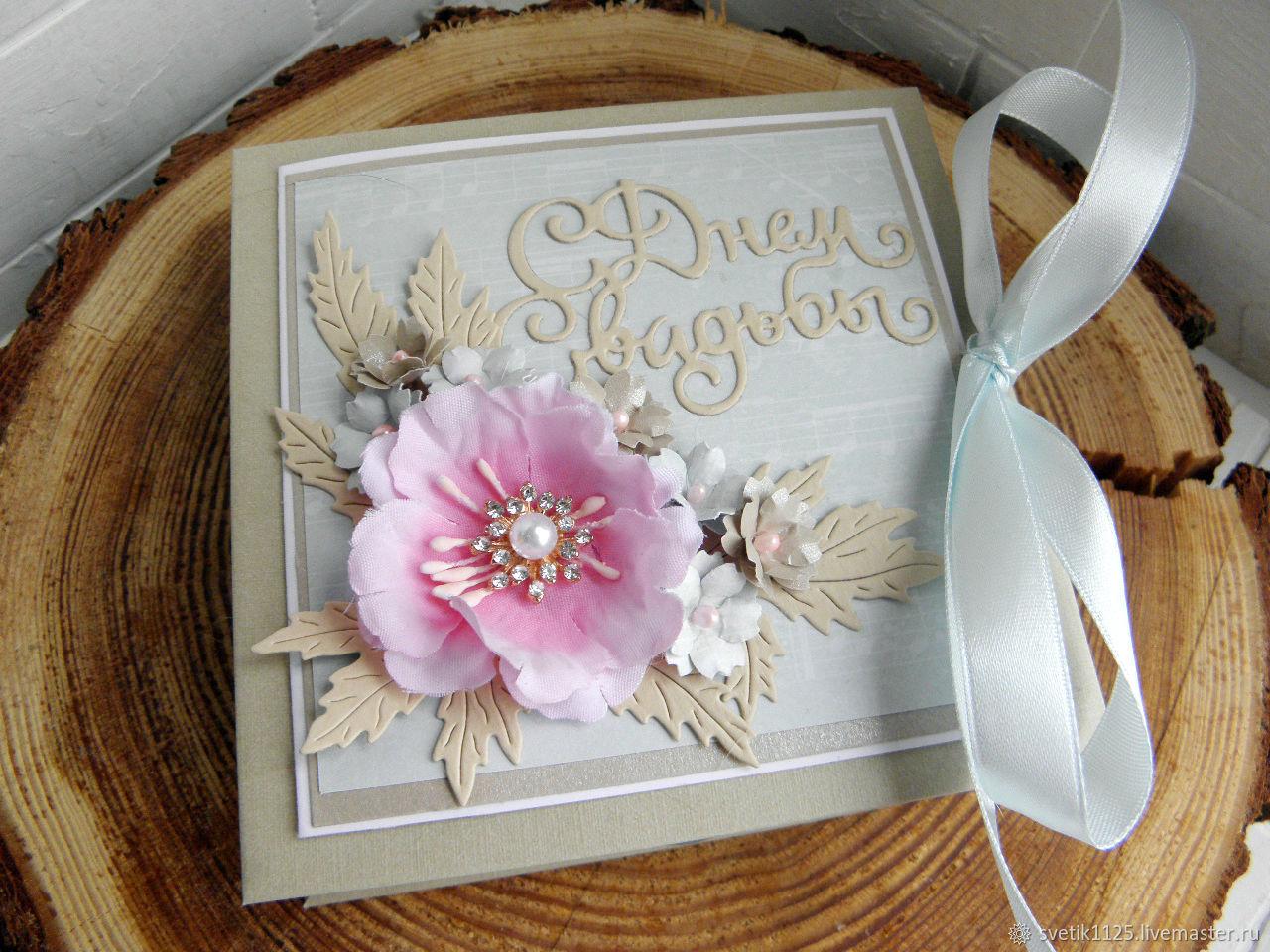 """Подарки на свадьбу ручной работы. Ярмарка Мастеров - ручная работа. Купить Свадебная коробочка для денег """" Шебби """". Handmade."""