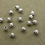 Материалы для творчества handmade. Livemaster - original item Separation beads, 4 mm. ( B08). Handmade.