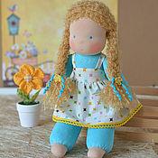 Куклы и игрушки ручной работы. Ярмарка Мастеров - ручная работа Вальдорфская кукла Есения, 34 см. Handmade.