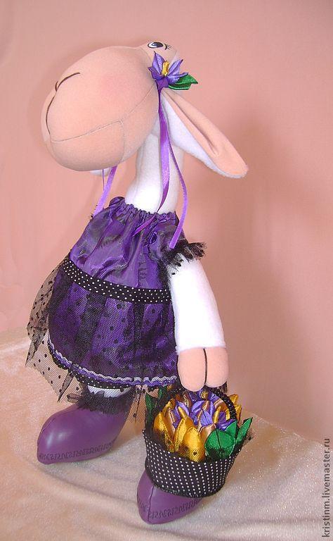 Летняя овечка в романтичных тонах