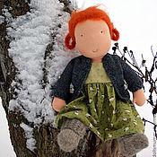 Вальдорфские куклы и звери ручной работы. Ярмарка Мастеров - ручная работа Рыжик (42 см). Handmade.