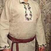 Одежда ручной работы. Ярмарка Мастеров - ручная работа рубаха мужская Дуб. Handmade.
