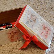 Для дома и интерьера ручной работы. Ярмарка Мастеров - ручная работа Набор из двух шкатулок. Handmade.